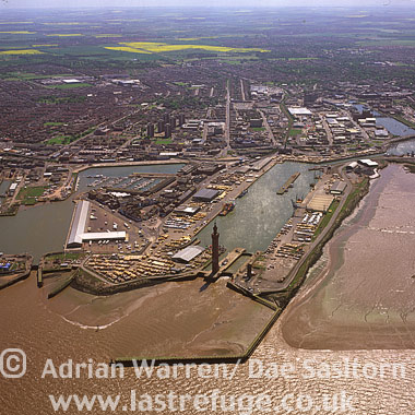Grimsby Harbour (Fish Dock), Lincolnshire, England