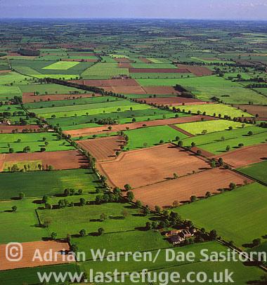 Helperby Landscape, Yorkshire, England