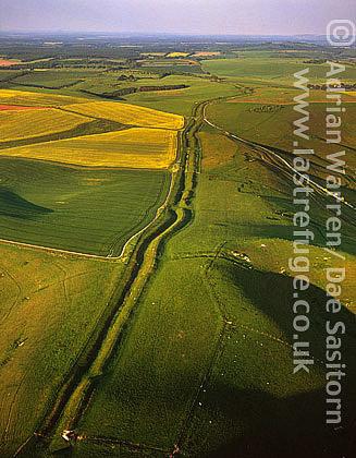 Wansdyke, Wiltshire, England