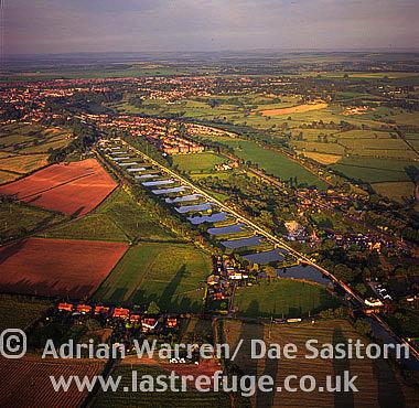 Devizes Locks, Wiltshire, England