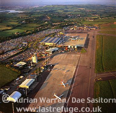 Bristol Airport, Somerset, England