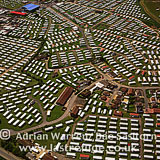 Ingoldmells Point: Patterns of Caravan sites, Lincolnshire, England