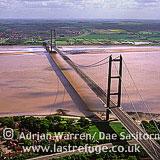 Humber Bridge, Humberside, East yorkshire, England