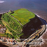 Scarborough Castle, North Sea Coast, North Yorkshire, England
