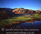 Coniston, town and lake, Cumbria, England
