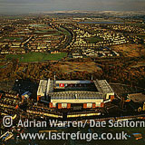Blackburn and Blackburn football Stadium, Lancashire, England