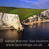 Dorset coast just west of Durdle Door, Dorset, England