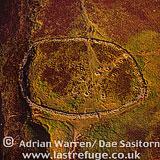 Grimspound Bronze Age Settlement, Dartmoor, Devon, England