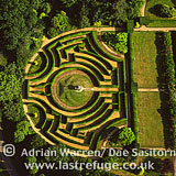 Maze at Somerleyton Hall, Suffolk, England