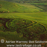 Dod Law Hill fort, near Wooler, Northumberland, England