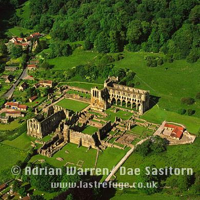 Rievaulx Abbey, Cistercian monastery, North Yorkshire, Yorkshire, England