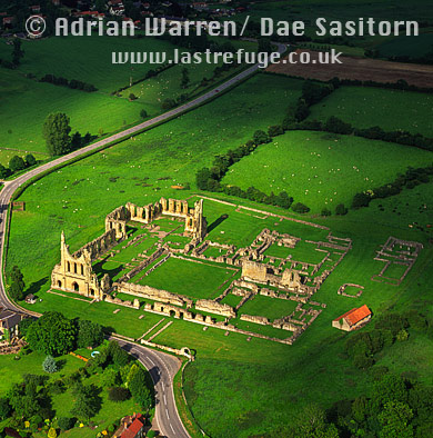 Byland Abbey, Cistercian monastery, Yorkshire, England