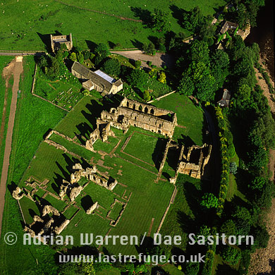 Easby Abbey, Yorkshire Dales, Yorkshire, England