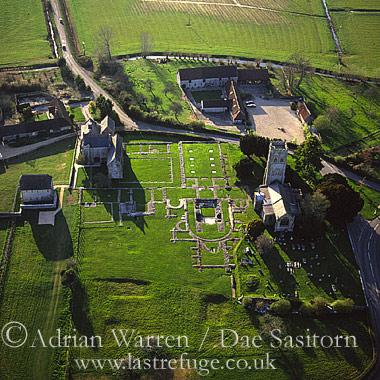 Muchelney Abbey, Somerset, England
