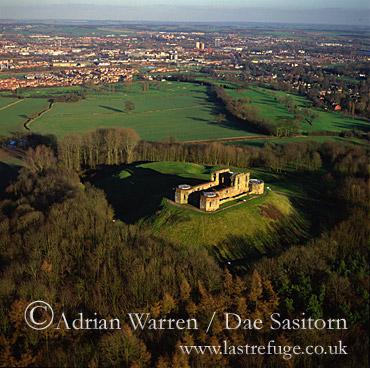 Stafford Castle, Staffordshire, England