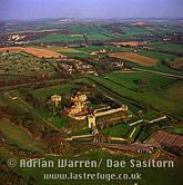 Carisbrooke Castle, village of Carisbrooke, near Newport, Isle of Wight, England