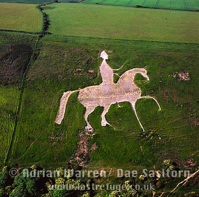 Osmington White Horse, Osmington, Dorset, England