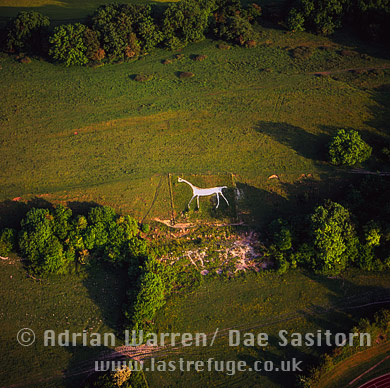 Marlborough White Horse (Preshute White Horse), Wiltshire, England