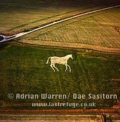 New Devizes White Horse, Wiltshire, England