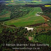 Kilburn White Horse (hill figure), Yorkshire, England
