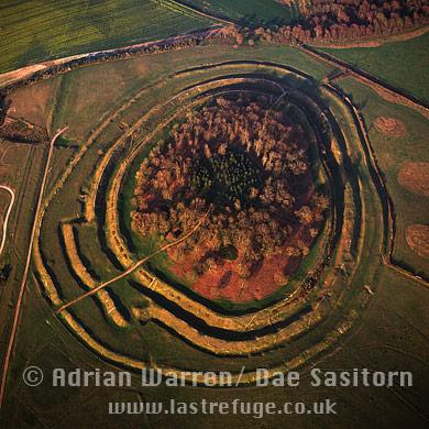 Badbury Rings (Hill Fort), Dorset, England