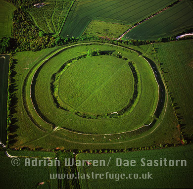 Figsbury Ring (Hill Fort), Wiltshire, England