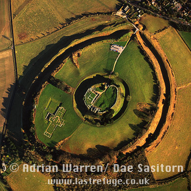 Old Sarum, Wiltshire, England