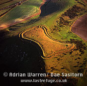 Beacon Hill Fort, Hampshire, England