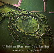 Danebury Ring (Hill Fort), Wiltshire, England