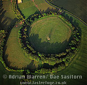 Bury Hill Fort, hill-fort, hillfort, Wiltshire, England