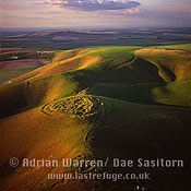 Knap Hill, Wiltshire, England