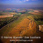 Eggardon Hill Fort, Dorset, England