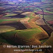 Scratchbury Hill Fort, Wiltshire, England