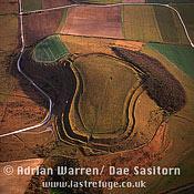 Battlesbury Hill Fort, Wiltshire, England