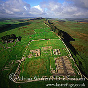 Housesteads Roman Fort and Hadrian's Wall, Northumberland, England