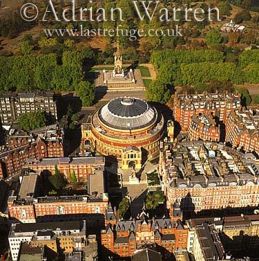 Royal Albert Hall and Albert Memorial, London, England