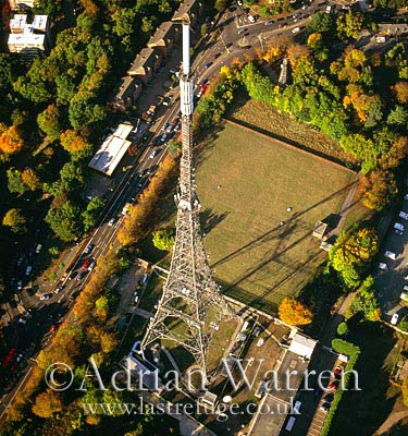 TV aerial transmitter, Crystal Palace, London, England