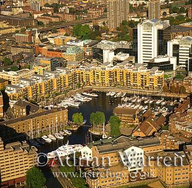St. Katherine Docks, London, England