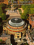 Royal Albert Hall and Albert Memorial, London, England