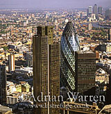 Tower 42, Gherkin (Swiss Re), London, England