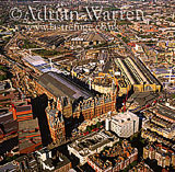St. Pancras Station and Kings Cross Station, London, England