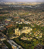 Peterborough Cathedral and its city, Cambridgeshire, England