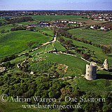 Hadleigh Castle, near Southend-on-Sea, Essex, England