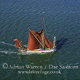 Thames Barge, West Mersea, Essex, England