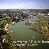 Maldon on the Blackwater Estuary, Essex, England