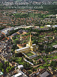 Norwich Cathedral and its city, Norfolk, England