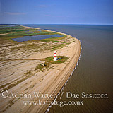 Orford Ness lighthouse, Orford Ness, Suffolk, England