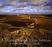 Wind farm at Kirkby Moor, Cumbria, England