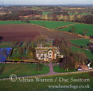 Little Moreton Manor, Congleton, Cheshire, England