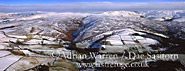 Peak District in snow, Kettleshulme, near Whaley Bridge, Derbyshire, England